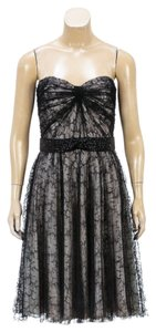 Carmen Marc Valvo Couture short dress Black on Tradesy