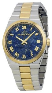 Michael Kors Nwt Channing Blue Lapis Dial Two-tone Watch $250 MK5893