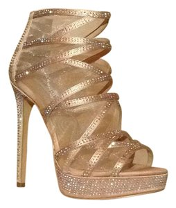Steve Madden Dusty Rose, Champagne Pink. Platforms