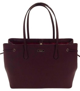 Kate Spade Laptop Work Saffiano Tote in Mulled Wine
