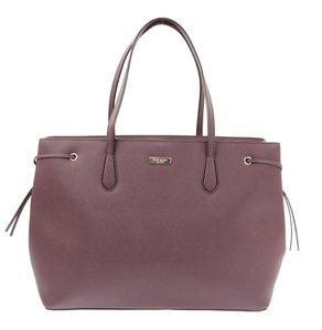 Kate Spade Laptop Work Shoulder Saffiano Tote in Red