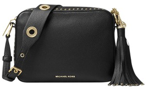 Michael Kors Applique Leather Tassel Cross Body Bag