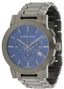 Burberry Burberry Grey Ion Stainless Steel Chronograph Mens Watch BU9365