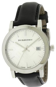 Burberry Burberry The City Leather Mens Watch BU9008