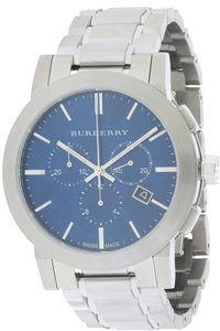 Burberry Burberry Check Stamped Chronograph Mens Watch BU9363