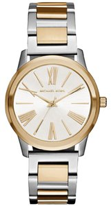 Michael Kors Michael Kors Women's Hartman Two-Tone Three-Hand Watch MK3521