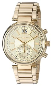 Michael Kors Michael Kors gold sawyer chronograph watch