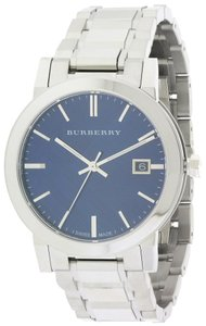 Burberry Burbery Large Check Stamped Mens Watch BU9031