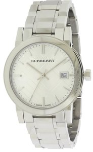 Burberry Burberry Large Check Stainless Steel Ladies Watch BU9100