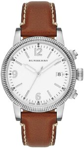 Burberry Burbery The Utilitarian Leather Ladies Watch BU7823