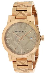 Burberry Burberry The City Rose Gold-Tone Ladies Watch BU9146