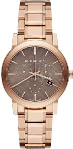 Burberry Burberry The City Rose Gold-Tone Unisex Watch BU9754