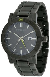 Burberry Burberry The New City Gunmetal Ion Unisex Watch BU9340