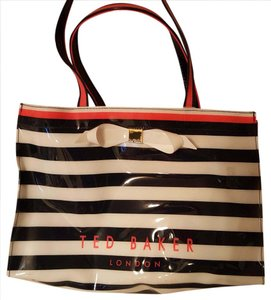 Ted Baker Tote in Blue and white stripe