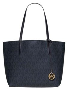 Michael Kors Michael Hayley Large Blue Tote in Baltic Blue/Light Sky