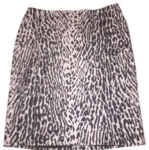 Talbots Skirt black and white