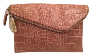Henri Bendel Tan Clutch