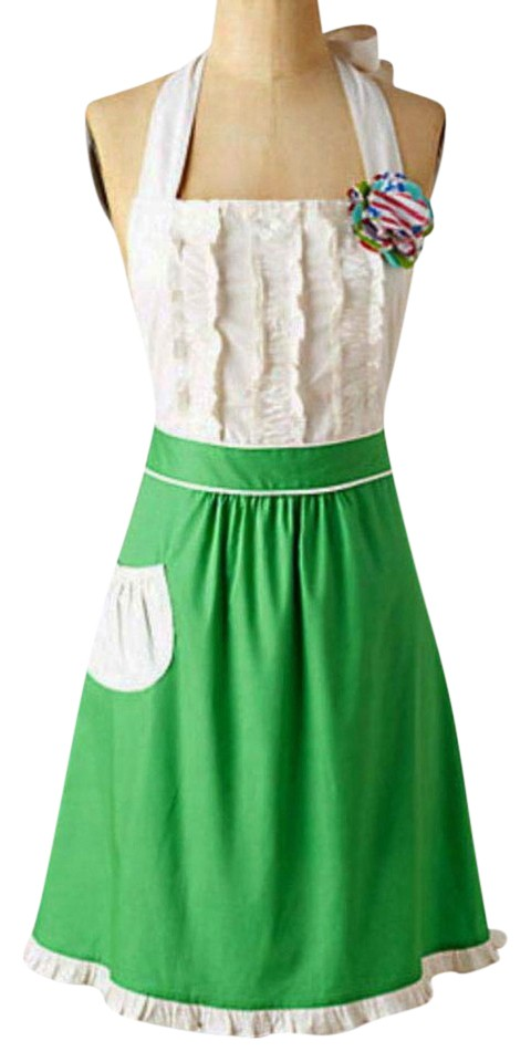 70d6d46643b Anthropologie Green Tea-and-crumpets Apron Not A Short Casual Dress ...