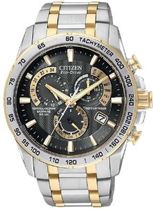 Citizen Citizen Eco-Drive Chronograph Two-Tone Mens Watch AT4004-52E [AT4004