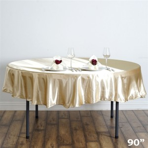 Champagne Tablecloth 90