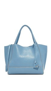 Botkier Soho Leather Blue Tote in Denim