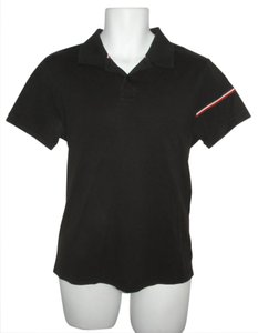 Moncler Polo Button Down Shirt Black