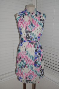 Sweet Pea by Stacy Frati short dress Anthropologie Animal Print Mesh Date Night on Tradesy