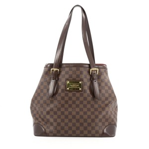 Louis Vuitton Hampstead Damier Tote in Damier Ebene