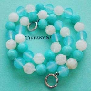 Tiffany & Co. Paloma Picasso Amazonite, Moonstone and Chalcedony Necklace