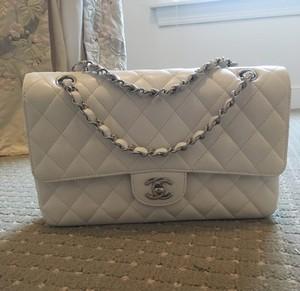 Chanel Caviar Leather Jumbo Quilted Shoulder Bag