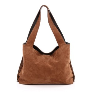 The Row Suede Hobo Bag