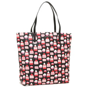 Kate Spade Bon Canvass Leather Tote in MINI PASTRY