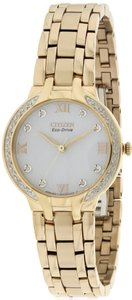 Citizen Citizen Eco-Drive Bella Crystal Stainless Steel Ladies Watch EM0123-50