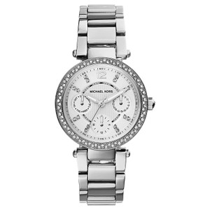 Michael Kors Michael Kors Women's Chronograph Mini Parker Stain Steel Watch MK5615