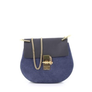 Chloé Chloe Leather Suede Cross Body Bag