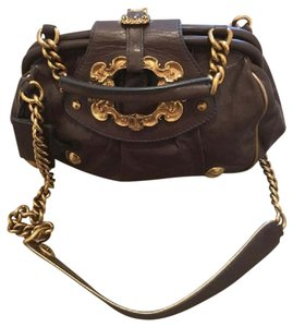 Dolce&Gabbana Baroque Leather Shoulder Bag