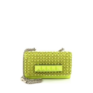 Valentino Leather Yellow Clutch