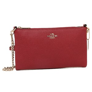 Coach Leather Red Kylie Cross Body Bag