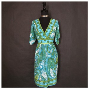 Green and Blue Maxi Dress by New Directions