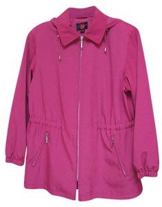 Gallery Petite Rain Mackintosh Hooded Raincoat