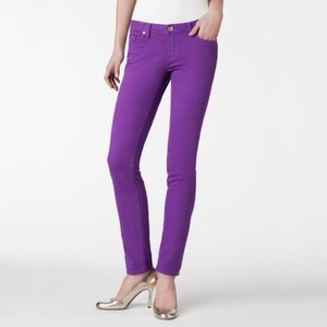 Kate Spade Stretch Gold Hardware Skinny Jeans