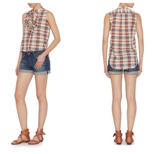 NSF Top Intermix Exclusive Plaid