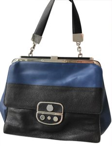 Jason Wu Satchel in Black And Blue