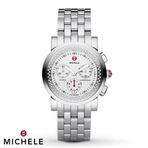 Michele NEW Sport Sail Diamond White Dial MWW01C000003 Watch