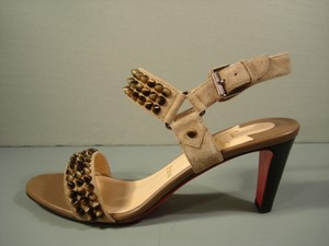 Christian Louboutin New Matching Tan Sandals