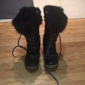 Sorel Brown and light blue Boots