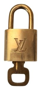 Louis Vuitton Louis Vuitton Brass Padlock Lock & Key