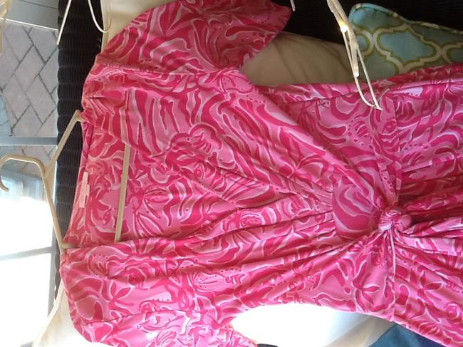 Item - Pink Mid-length Work/Office Dress Size 4 (S)