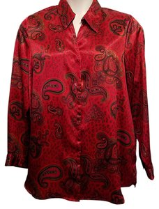 Other Top Red Paisley