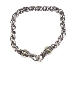 David Yurman David Yurman 925 & 14K 5mm Link Bracelet (114596)